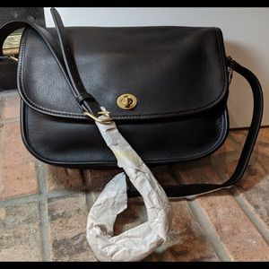 Vintage Leather Coach Crossbody